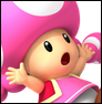 Toadette colored