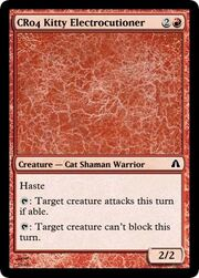 CR04 Kitty Electrocutioner
