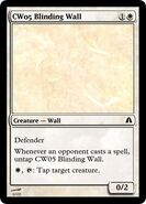 CW05 Blinding Wall