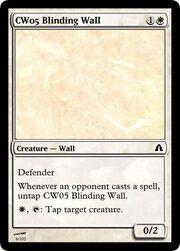 CW05 Blinding Wall