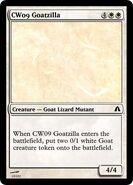 CW09 Goatzilla