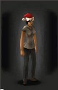 Santa's Searching Skullcover - equipped female