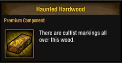 Tlsdz haunted hardwood