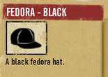 Tlsuc fedora black