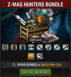 Tlsdz z-mas hunters bundle