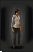 Tactical Camo Shirt - Alpine equipped female