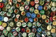 Beerbottle caps