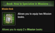 How to Specialize in Missions