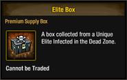 Unique elite box