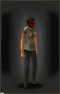 The Red Devil equipped female