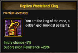 Replica Wasteland King