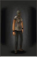 Ski Mask Green equipped female