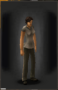 Sheriff Pants equipped female