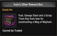 Ivan's other reward box in inventory