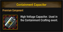 Containment Capacitor