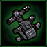 Police holster icon