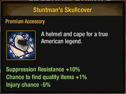 Stuntman's Skullcover