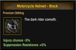 Tlsdz motorcycle helmet - black