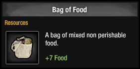Bag of Food