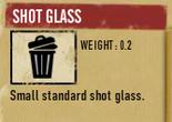 Tlsuc shot glass