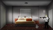 860 tan bed