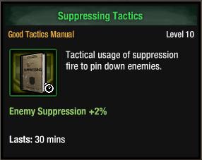 Suppressing Tactics