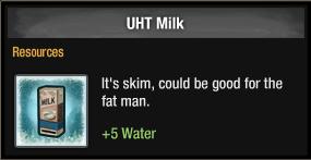 UHT Milk 2016