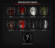 Infectedbounties ballistic masks