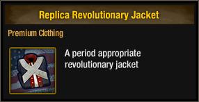Replica Revolutionary Jacket