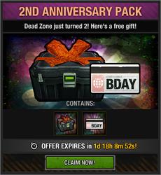 2nd Anniversary Pack