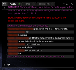 Detached chat window