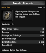 Grenade - Pineapple