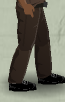 Tlsuc pants - brown worn