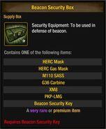 Beacon Security Box