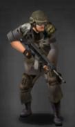 Survivor with M-417