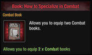 How to Specialize in Combat