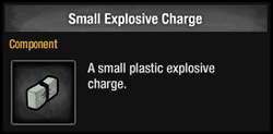 Small Explosive Charge
