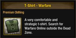 T-Shirt - Warfare