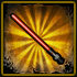 Stars Wor - Red Plastic Laser Sword