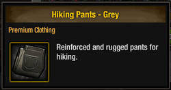 Hiking Pants - Grey