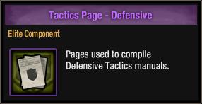 Tactics Page - Defensive