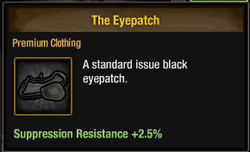 Tlsdz the eyepatch