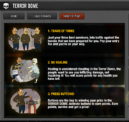Terror dome basic rules