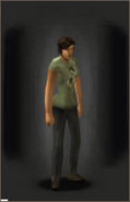 T-Shirt - Warfare equipped female