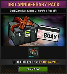Tlsdz 3rd anniversary pack