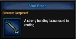 Strut brace
