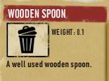 Tlsuc wooden spoon
