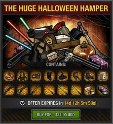 Tlsdz The Huge Halloween Hamper