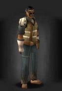 Tlsdz improvised ballistic mask equipped