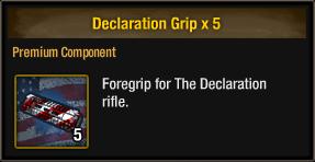 Declaration Grip